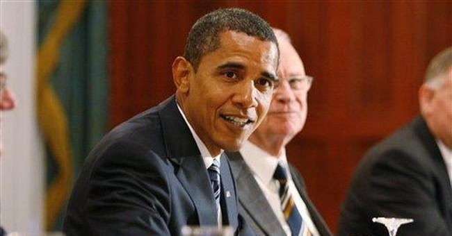 Let's Back Away From Barack
