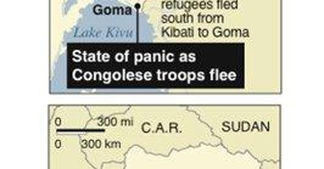 Protesters in E. Congo demand soldiers leave