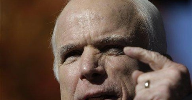 Top Ten Reasons to Vote for McCain/Palin