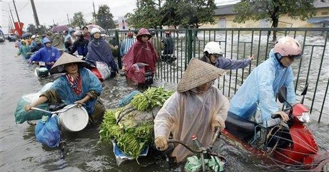 Storms kills 17 people in northern Vietnam