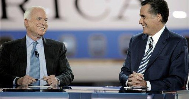 Romney: McCain is 'Washington Insider'
