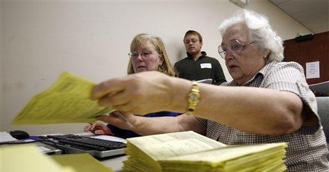 Precincts run out of ballots in Anchorage election
