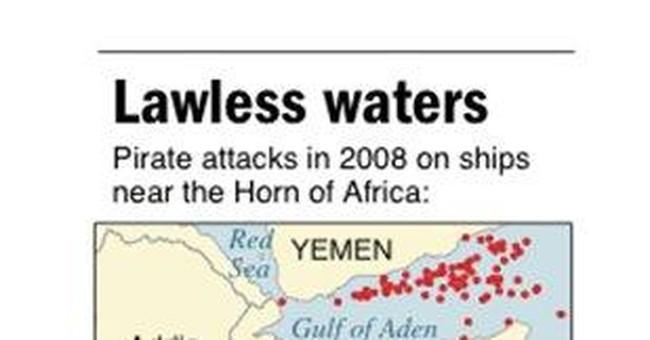 World sea piracy surges; focus on Somalia, Benin