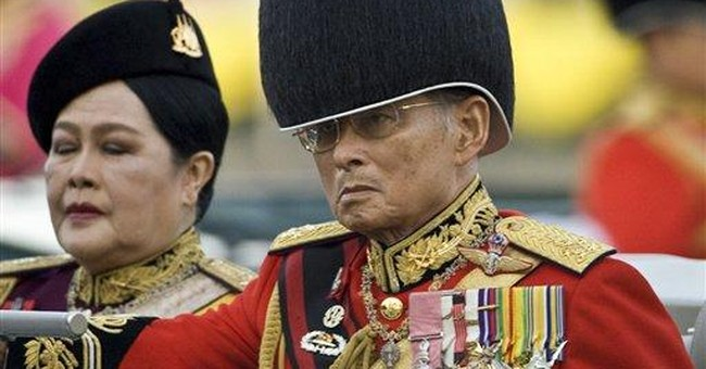 Thai police arrest man for selling monarchy video
