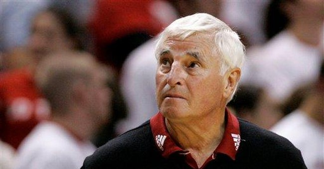 Stow the Chairs: Bobby Knight's Gone