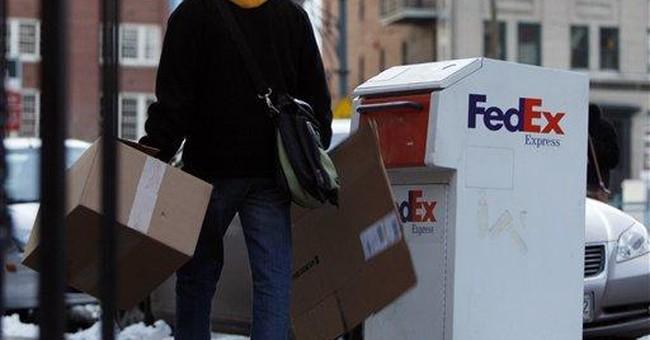 Summary Box: FedEx 2Q nearly doubles