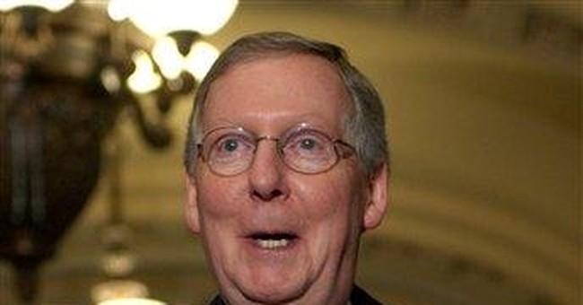 McConnell Halts Senate Over Judges