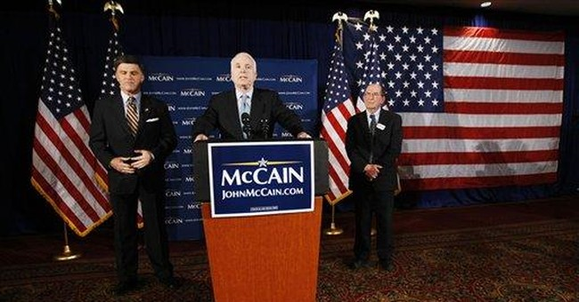 The McCain Candidacy