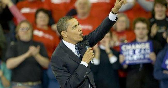 St. Obama Learns the Washington Ways