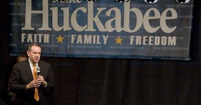 Thank You, Mr. Huckabee