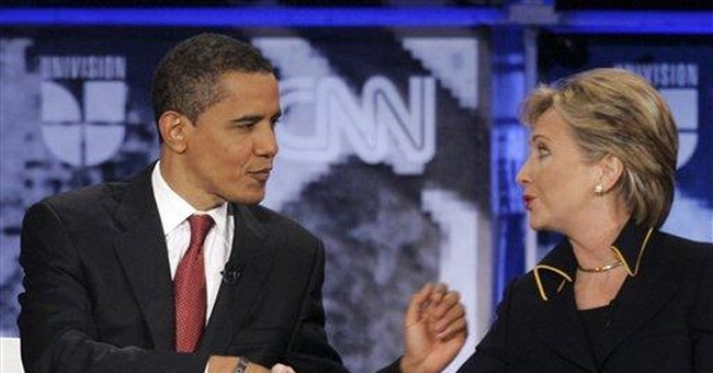 This Just in From Venus: Hillary's The Tough One, Obama's The Nice One