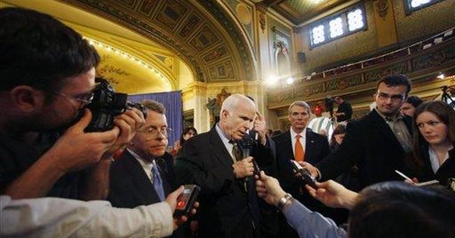 McCain Proud to Brush Off FEC Commish