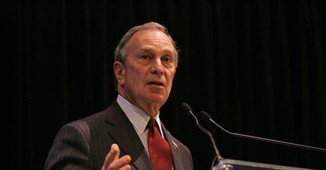 Governor Bloomberg?