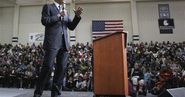 Obama's Halo Not Attached with Superglue