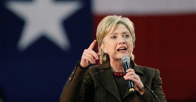 Hillary Shows There's Fight Left In Her