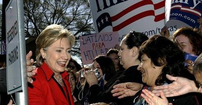 Hillary Survives Alamo Tuesday