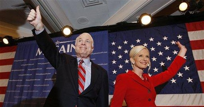 War Vote Carries McCain