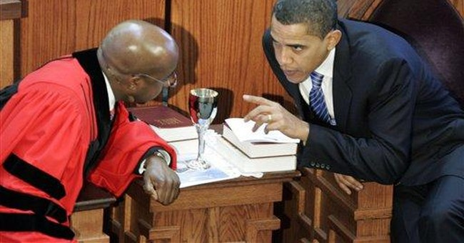Watch: Raphael Warnock Said 'Nobody can Serve God and the Military' in 2011 Sermon