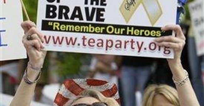 GOP Heads on Sticks