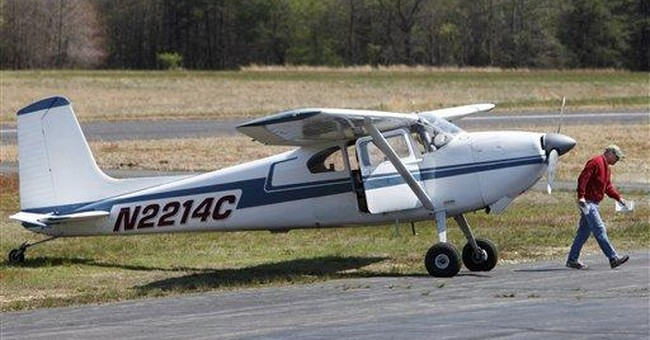 Small plane diverted from restricted DC airspace