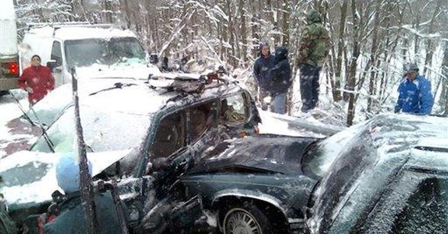 8 injured in 41-vehicle pileup on I-75 in Kentucky