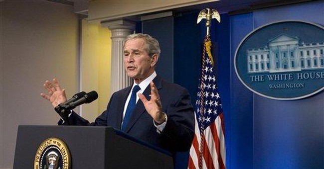 Transcript: George W. Bush's Final Press Conference
