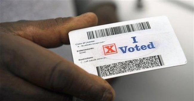 The Left's False Claim of Suppression From Voter ID Laws