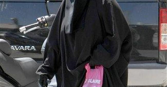 Hillary's Burqa?