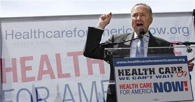 No Excuse for Dems' Sticker Shock on Health Care