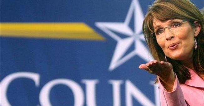 Palin's Ship in the Harbor