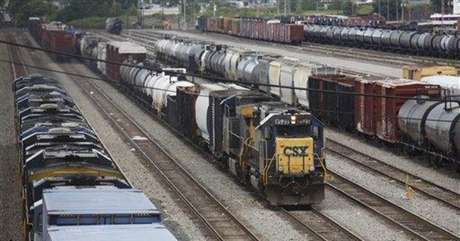 Freight railroad CSX says 3Q profit, revenue rise