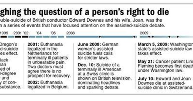UK experts: Assisted suicide legally possible