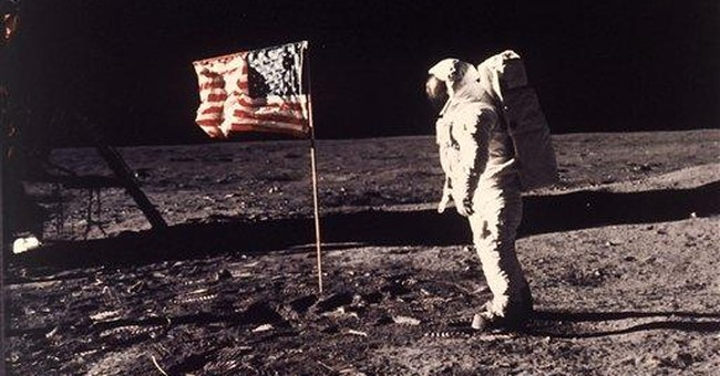 Swatch from famous moon-bound flag goes to auction