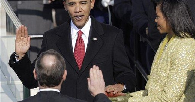 Obama's Inaugural: Hubris Will Bring Him Down