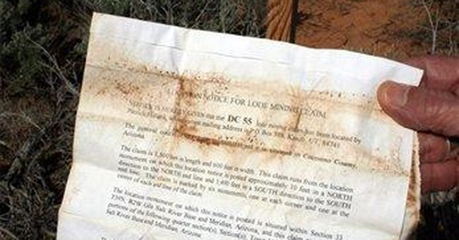 Ban on mining claims near Grand Canyon extended