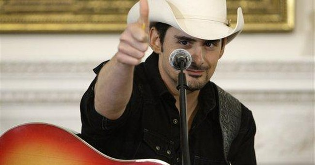 Are Brad Paisley and Rand Paul the bravest men in America?