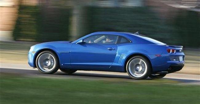 Fact sheet: 2012 Chevrolet Camaro Convertible