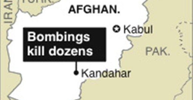Afghan official: Explosives seized, attack stopped