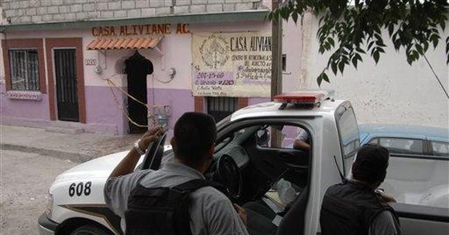7 tortured, bound bodies found in Mexican port