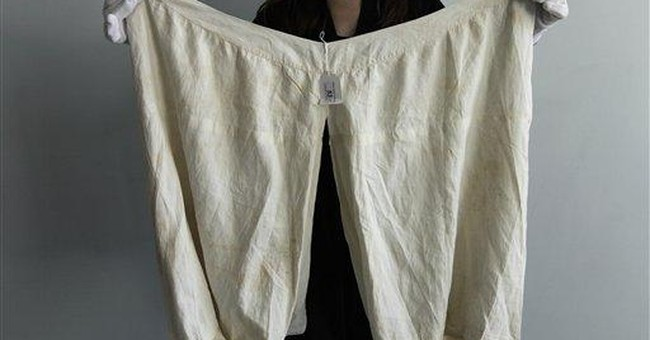 Queen Victoria's underwear sold for almost $15,000