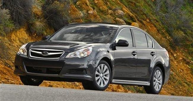 Subaru recalling 69,590 Legacys and Outbacks