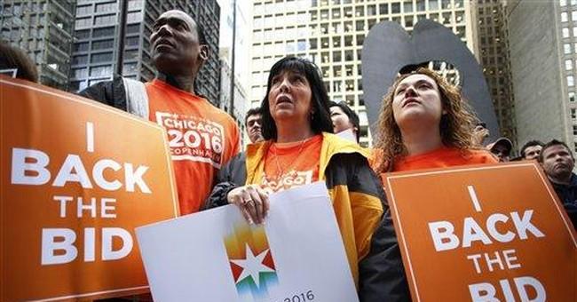 Obama's Olympic Arrogance