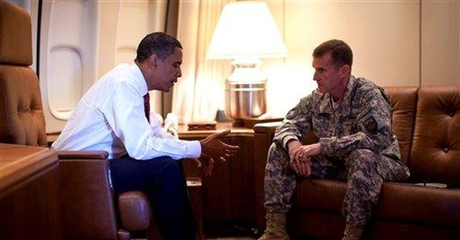 Afghan Standoff: It's Obama vs. McChrystal in a War For America's Trust