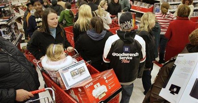 Holiday sales rise 4.1 percent