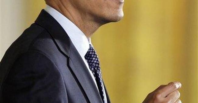 Weak Himself, Obama Draws Strength From Bush