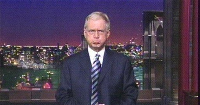 Top Ten Reasons Why David Letterman Should Resign