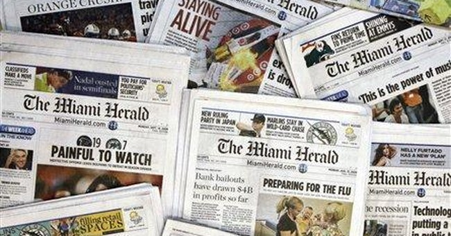 McClatchy says revenue decline easing, stock up