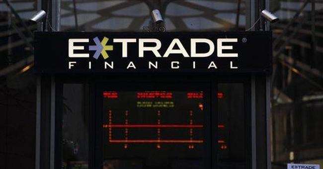 E-Trade posts $71M 3Q profit with tax benefit