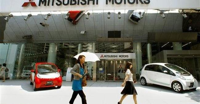 May Auto Sales: Mitsubishi