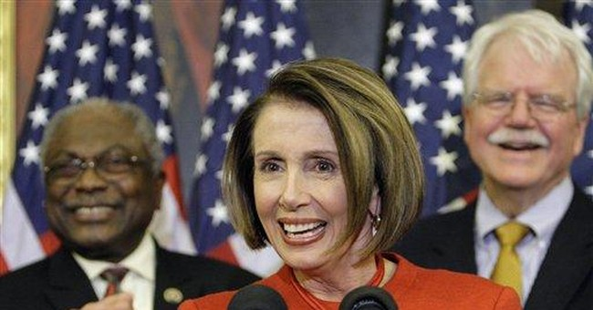 Mrs. Pelosi Thumbs Her Nose